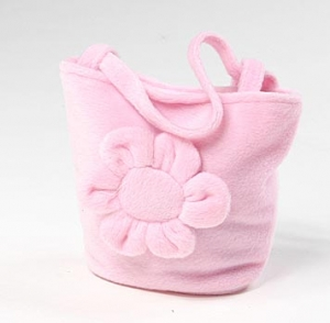 fleece-flower-purse-favor-bag
