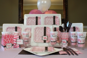 pink safari lets party box